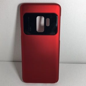 Other - Samsung Galaxy S9 Hard Matte Red Case.